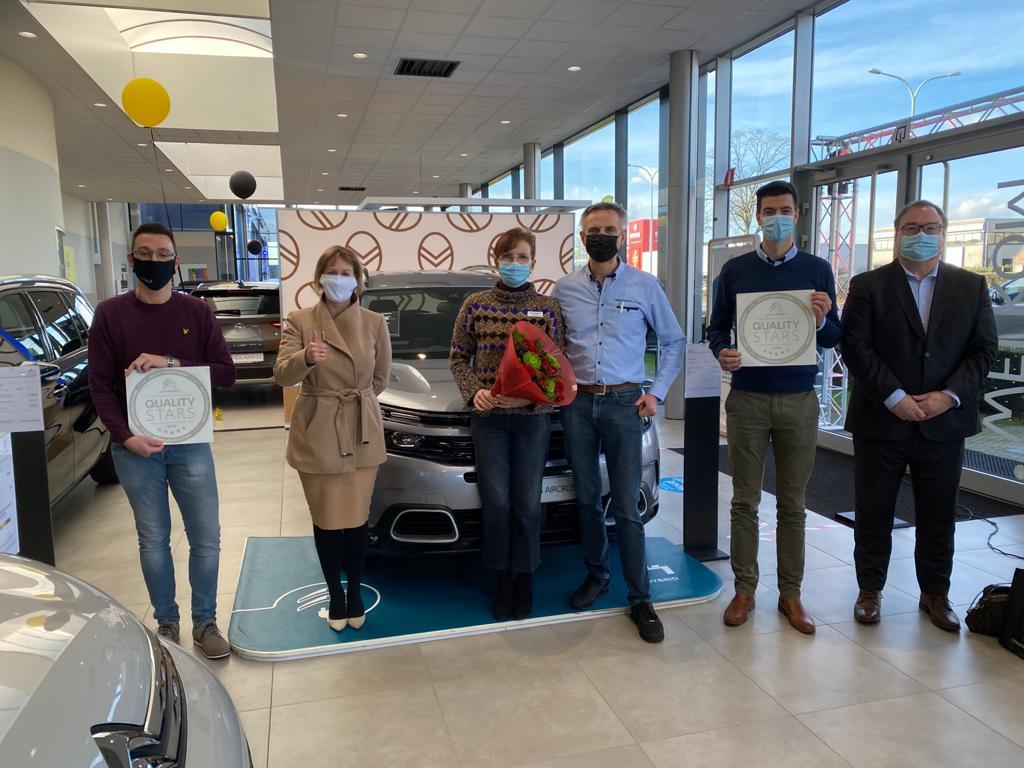 Quality Award Citroën voor kwaliteit