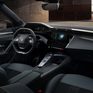 Modern interieur - New Peugeot 308
