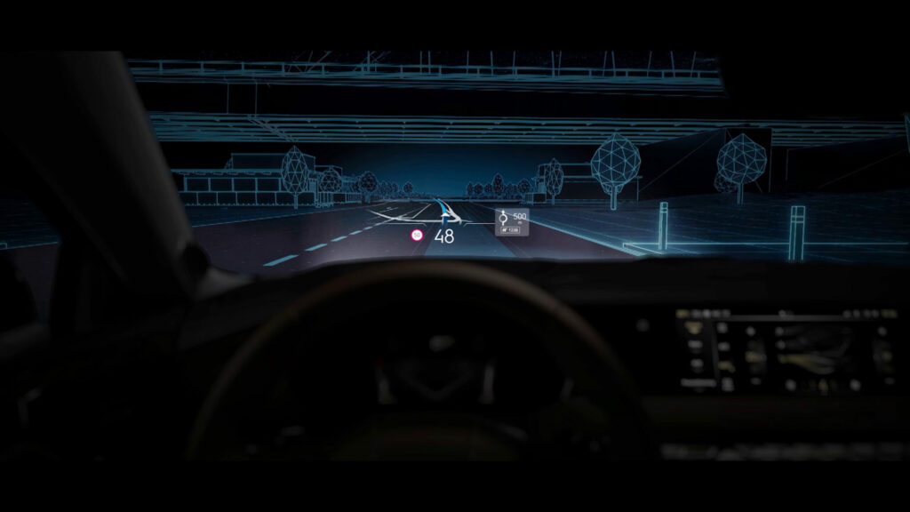 ds4 extended head-up display